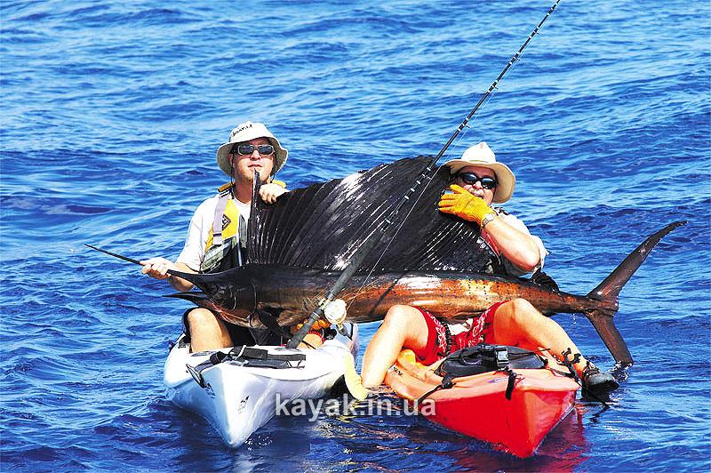 Рыбацкий каяк или Лодка для рыбалки